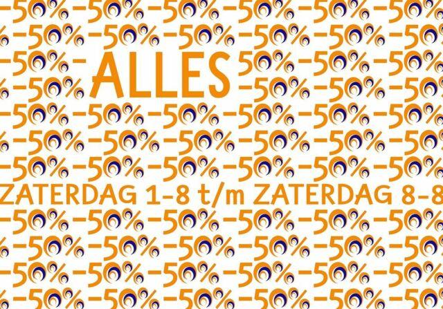 Het is weer zover, hoor... Warme ZOMERACTIE bij PortAgora! Van zaterdag 1-8 t/m zaterdag 8-8: ALLES in de winkel voor de helft van de prijs de deur uit! Ga (je) maar 'ns lekker te buiten!  #actie #korting #allesvoordehelft #halveprijzen #PortAgora #Koningsplein #Tilburg #zomeractie